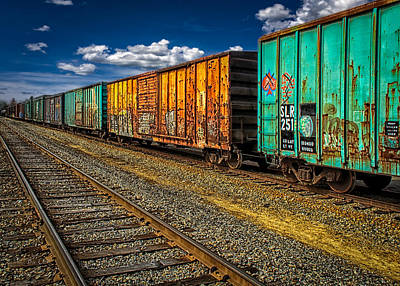 Photograph - Boxcars  by Bob Orsillo