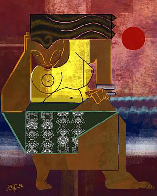 Digital Art - Boxed 2 by David James
