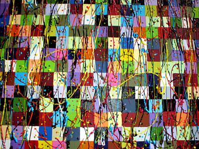 Fruit Tree Art Painting - Boxed In by Paula Bramlett