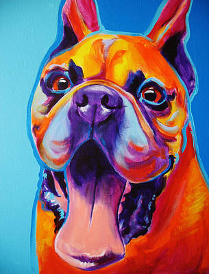 Boxer Painting - Boxer - Tyson by Alicia VanNoy Call