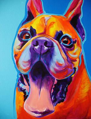Boxer - Tyson Art Print by Alicia VanNoy Call