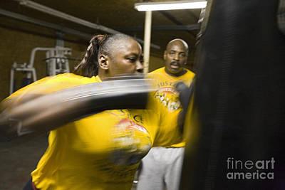 Boxer And Coach Art Print