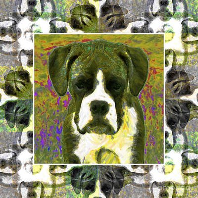 Boxer Dog 20130126 Art Print by Wingsdomain Art and Photography