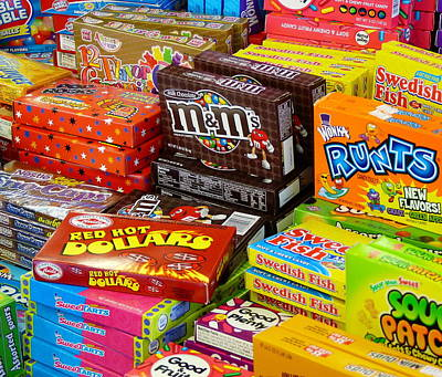 Boxes Of Candy Art Print