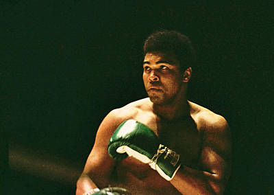 Photograph - Boxing - Cassius Clay - Mean Look by Robert  Rodvik