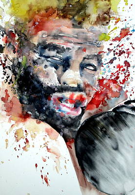 Painting - Boxing II by Fabrizio Cassetta