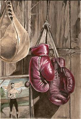 Boxing Nostalgia Print by Robert Crandall