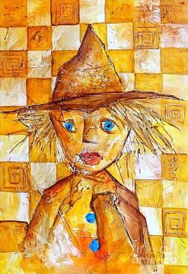 Graphics Painting - Boy 621-12-13 Marucii by Marek Lutek