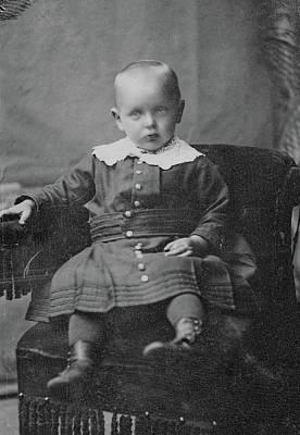 Photograph - Boy, C1890 by Granger