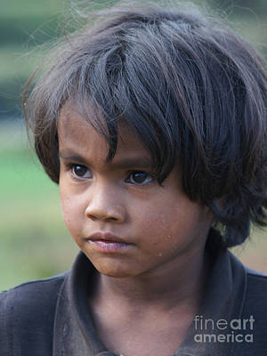 Photograph - boy from Madagascar 1 by Rudi Prott