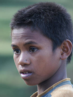 Photograph - boy from Madagascar 4 by Rudi Prott