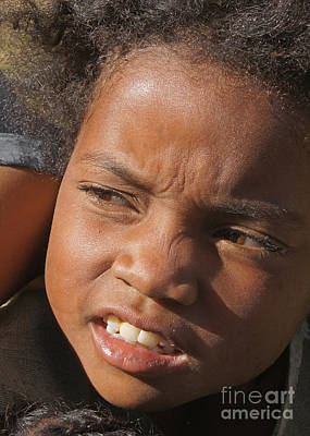 Photograph - boy from Madagascar 5 by Rudi Prott