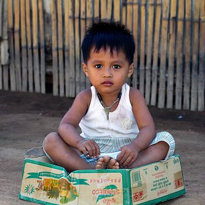 Photograph - Boy In Box by Brad Grove