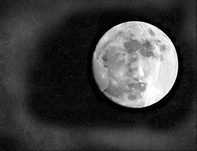 Photograph - Boy In The Moon by Morgan Wright