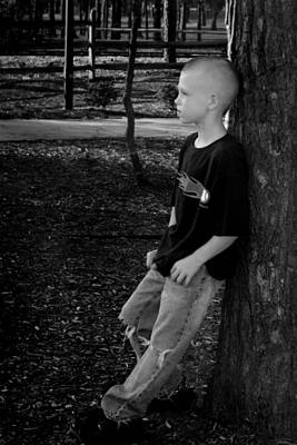 Photograph - Boy by Kelly Hazel