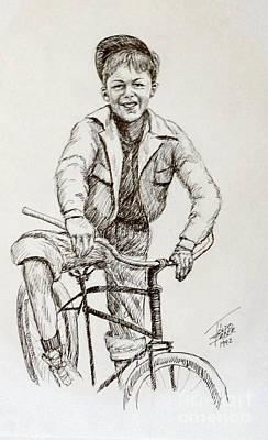 Boy Of The 1930s Art Print