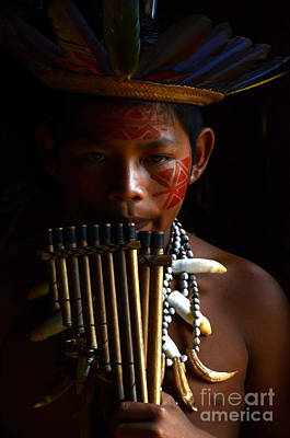 Amazon River Photograph - Boy Of The Amazon 3 by Bob Christopher