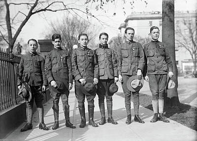 Photograph - Boy Scout, 1914 by Granger