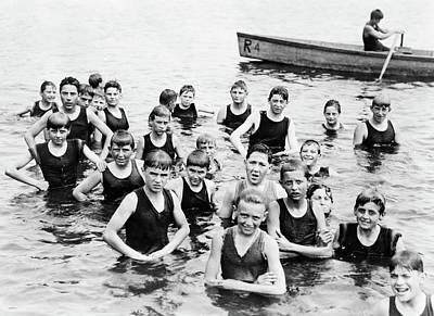 Photograph - Boy Scout Camp, C1919 by Granger
