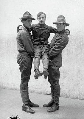 Photograph - Boy Scouts, 1912 by Granger