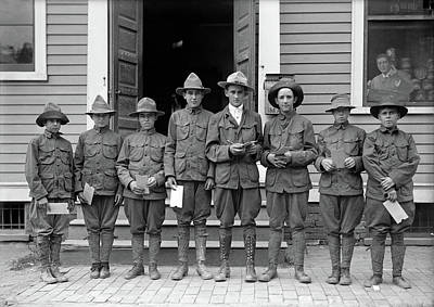 Photograph - Boy Scouts, 1913 by Granger