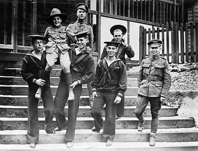 Photograph - Boy Scouts, C1915 by Granger