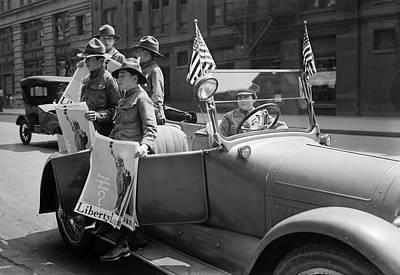 Photograph - Boy Scouts, C1917 by Granger