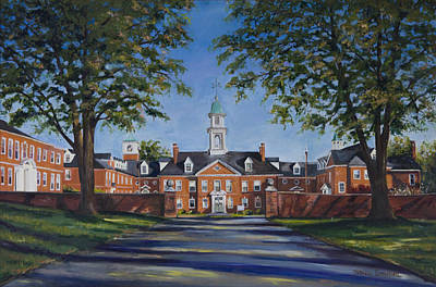 Seminary Painting - Boyce College At Southern Baptist Theological Seminary by Stacy Ingram