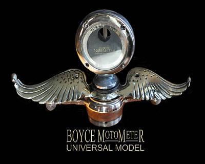 Photograph - Boyce Motometer by Jack Pumphrey