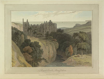 Boyne Castle Art Print by British Library