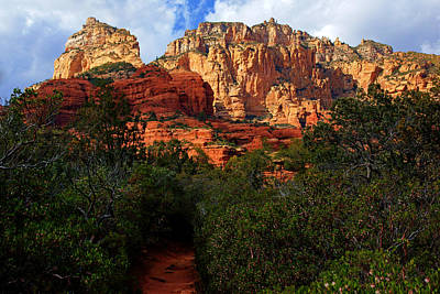 Photograph - Boynton Canyon Trail by Daniel Woodrum