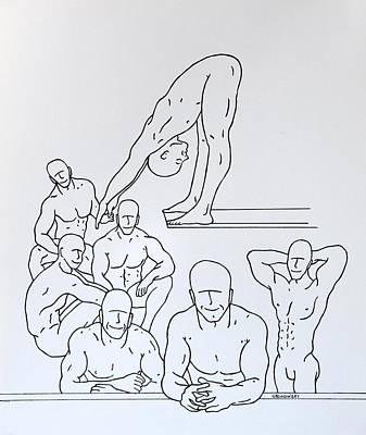 Boys At Play #5 Art Print