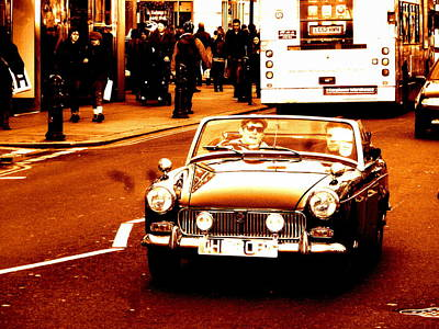 Photograph - Boys Crusing London  by Funkpix Photo Hunter