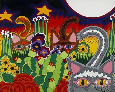 Boys Night Out Original by Rojax Art
