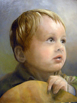 Painting - Boy's Wonder by Lori Ippolito