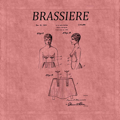 Photograph - Bra Patent 17 by Andrew Fare