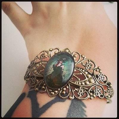 Steampunk Photograph - #bracelet #cammeo #steampunk #victorian by Daniela Barisone