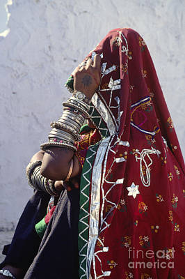 Photograph - Bracelets - Pushkar India by Craig Lovell
