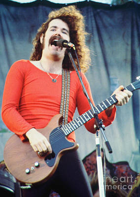 Brad Delp Of Boston-day On The Green 1 In Oakland Ca 5-6-79 1st Release Art Print