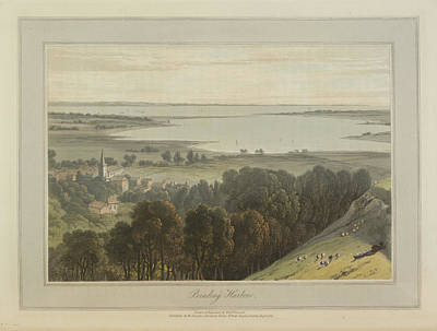 Brading Harbour Art Print by British Library