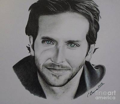 Drawing - Bradley Cooper by Christy Bruna