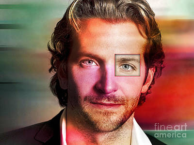 Movie Mixed Media - Bradley Cooper  by Marvin Blaine