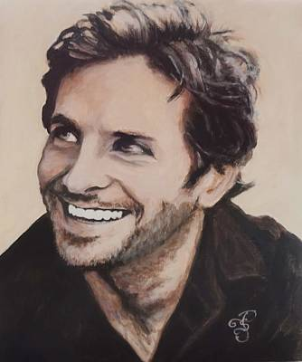 Painting - Bradley Cooper by Shirl Theis
