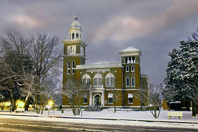 Photograph - Bradley County Courthouse by Robert Camp