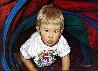Painting - Bradley by Linda Becker