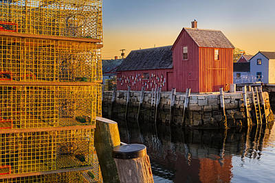 Photograph - Bradley Wharf Motif #1 by Susan Candelario