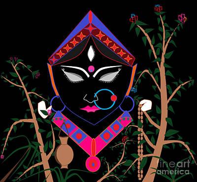 Digital Art - Brahmacharini by Pratyasha Nithin