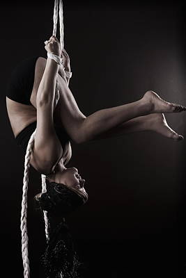 Contortion Photograph - Braided by Monte Arnold