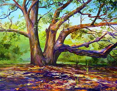 Braided Oak Art Print by AnnaJo Vahle