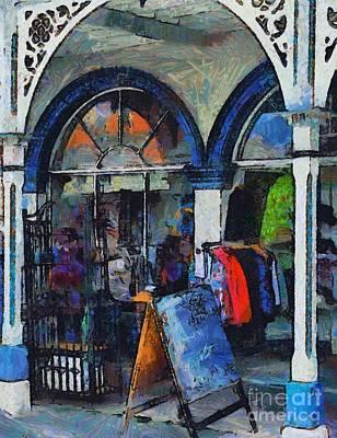 Digital Art - Braidwood Shops 3 by Fran Woods